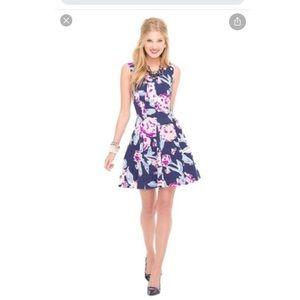 Lilly Pulitzer Sz 00 Bright Navy Clove Dress